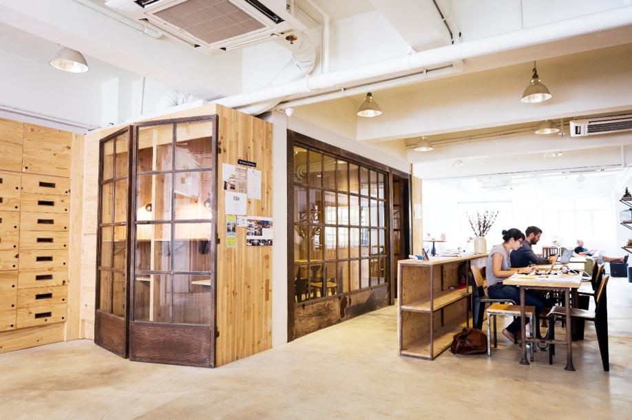 Hong Kong co-working space