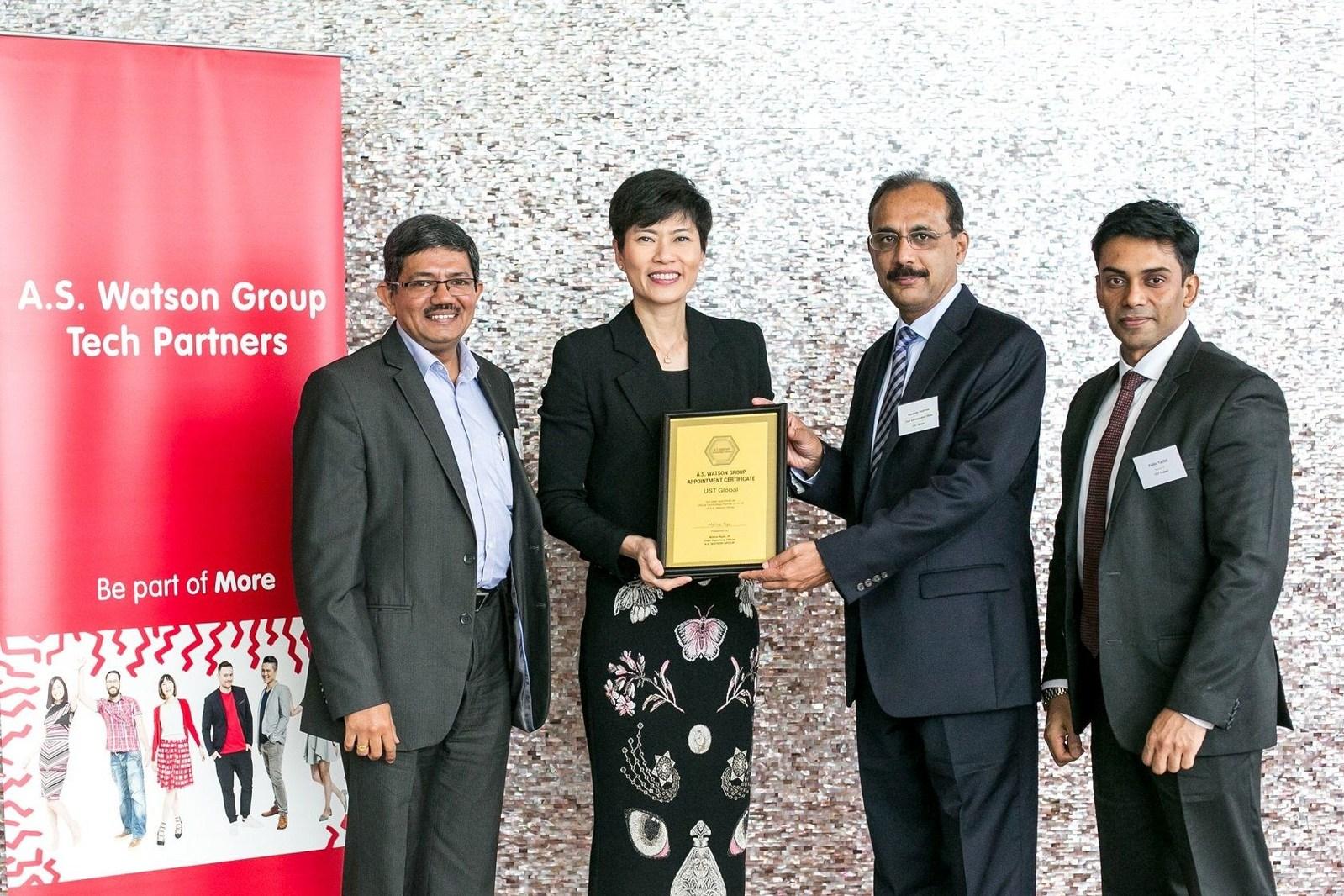 AS Watson UST Global Partnership